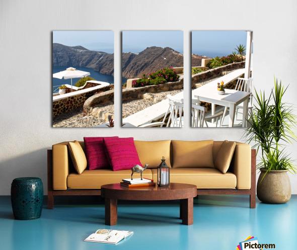 Romantic View Split Canvas print
