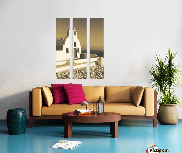 The Small Chapel Split Canvas print