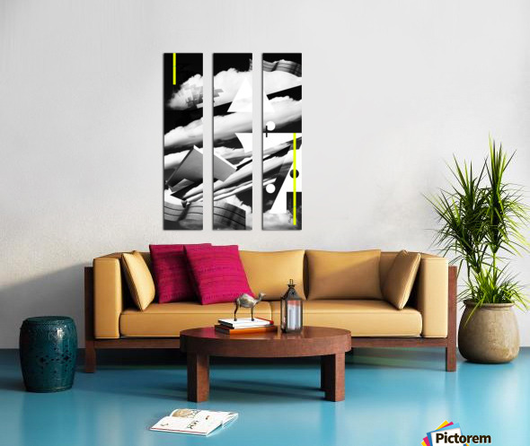 Art Spaces Split Canvas print