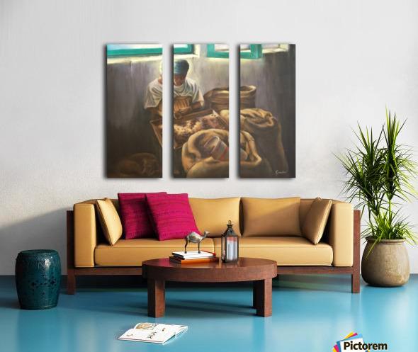 The Nutmeg Sorter Split Canvas print