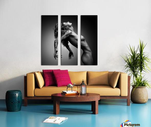 Nude woman fine art 22 Split Canvas print