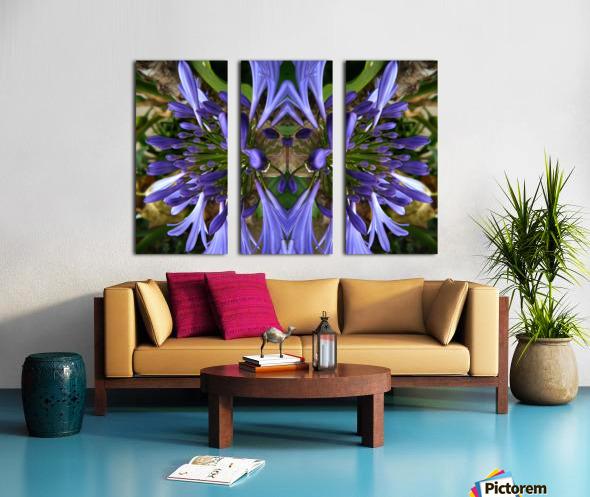 flower3 Split Canvas print