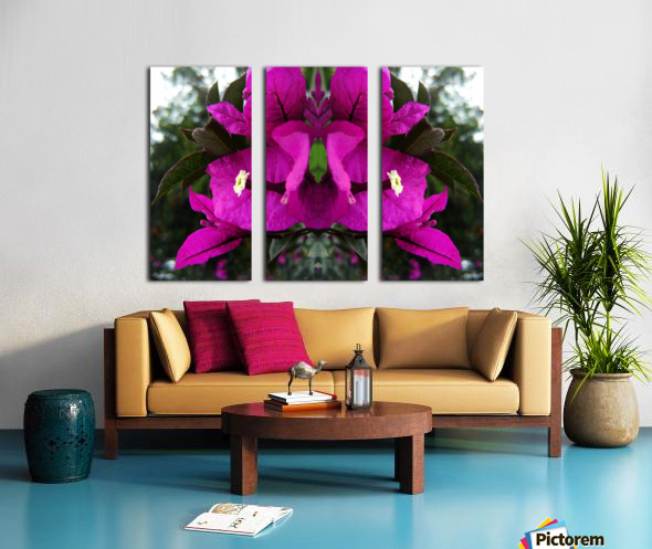 flower90 Split Canvas print