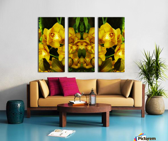 flower65 Split Canvas print