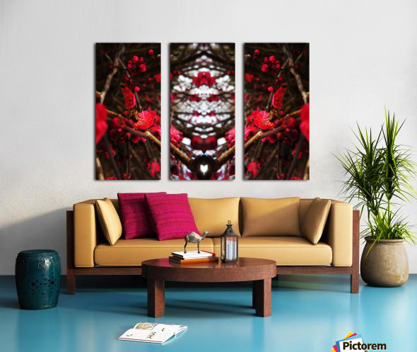flower83 Split Canvas print