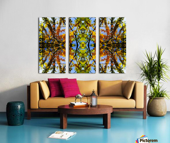 flower43 Split Canvas print