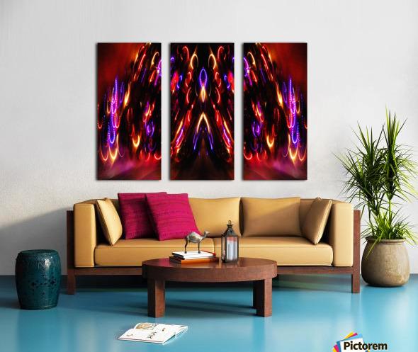 Lights15 Split Canvas print