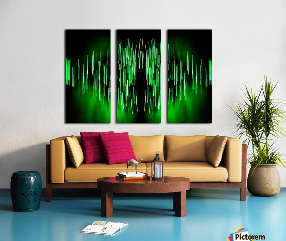 Lights45 Split Canvas print