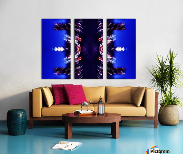 Lights47 Split Canvas print