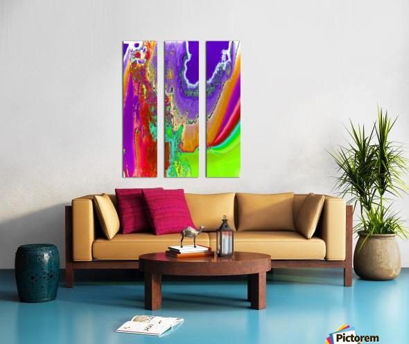 Sacred colors Split Canvas print