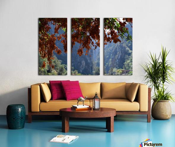 Akchour Split Canvas print
