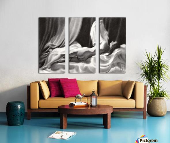 Roundism – 15-11-20 Split Canvas print