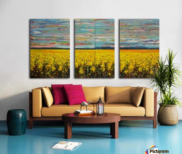 Arcadia Full Painting Split Canvas print