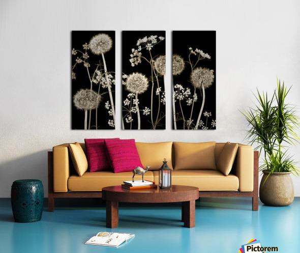 Meadow flowers Split Canvas print