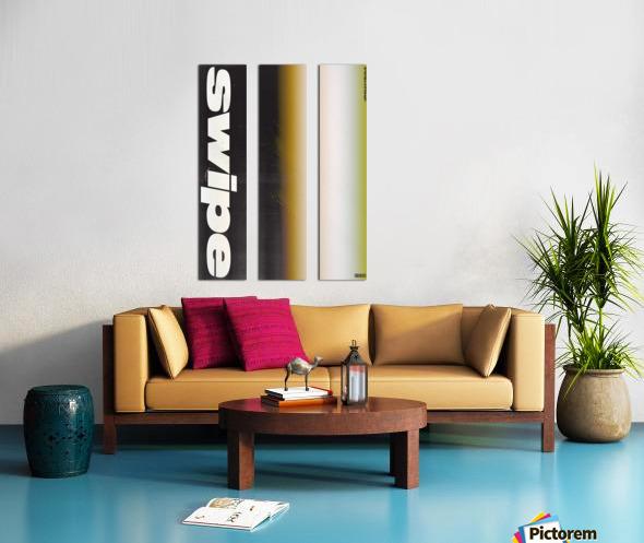 SWIPE Split Canvas print