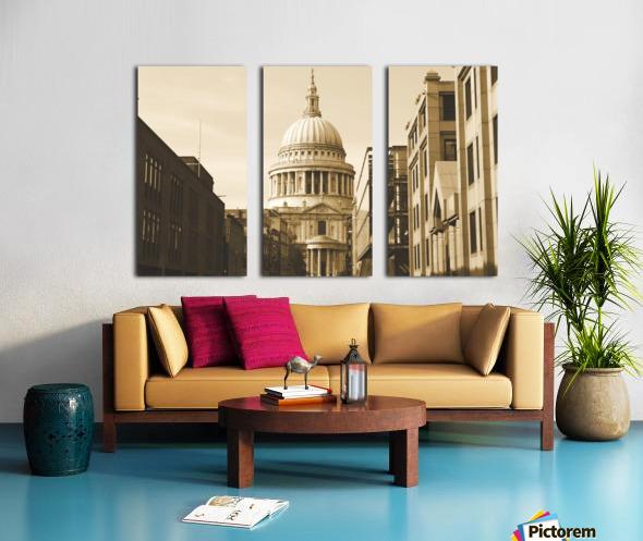 London - St  Pauls Cathedral Split Canvas print