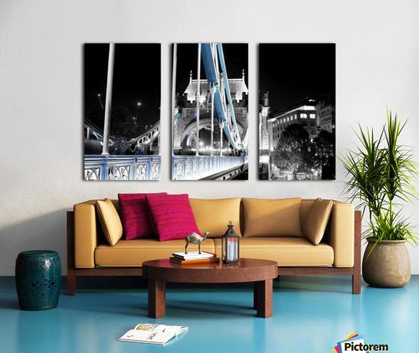 Tower Bridge Split Canvas print