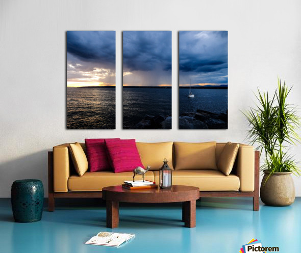 Better be home soon Split Canvas print