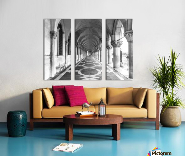 Doge's Palace archway in Venice, Italy Split Canvas print