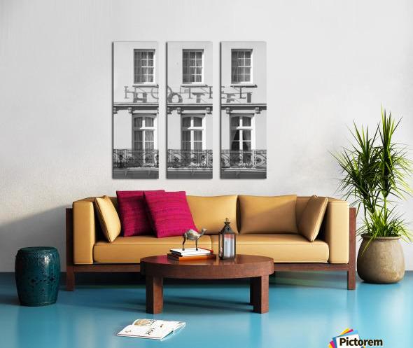 Hotel in Windosr Split Canvas print
