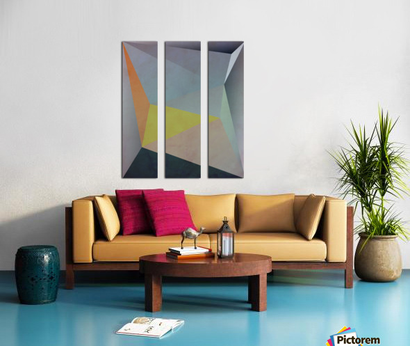 Abstract Composition 1137 Split Canvas print