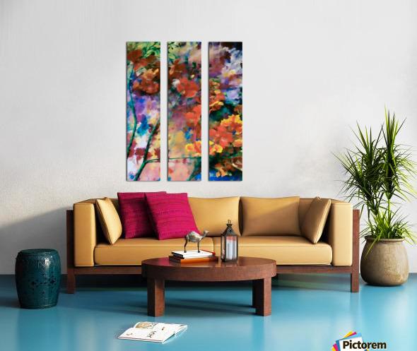 Sprigtime Split Canvas print