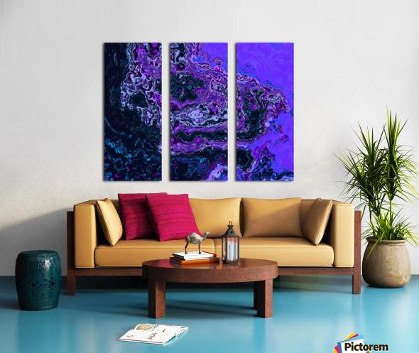 image3A814_Glitch6 Split Canvas print