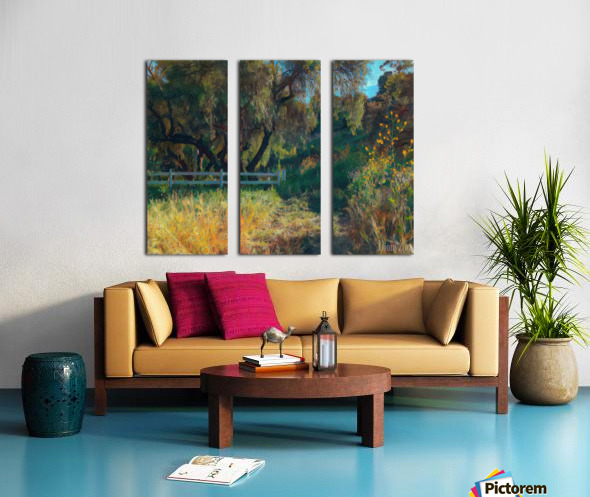 Rolling hills 2 Split Canvas print