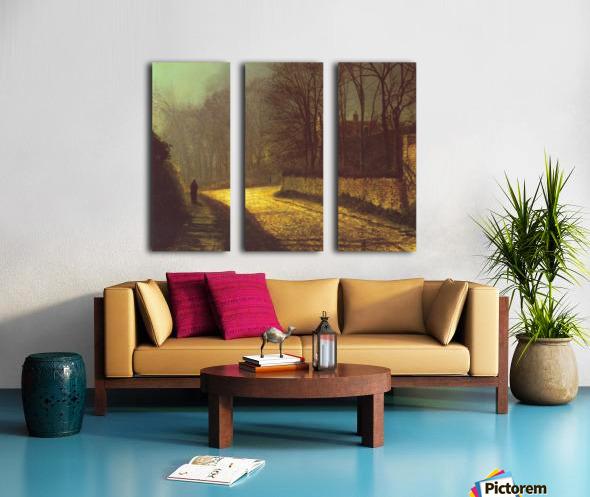 The Lovers Split Canvas print