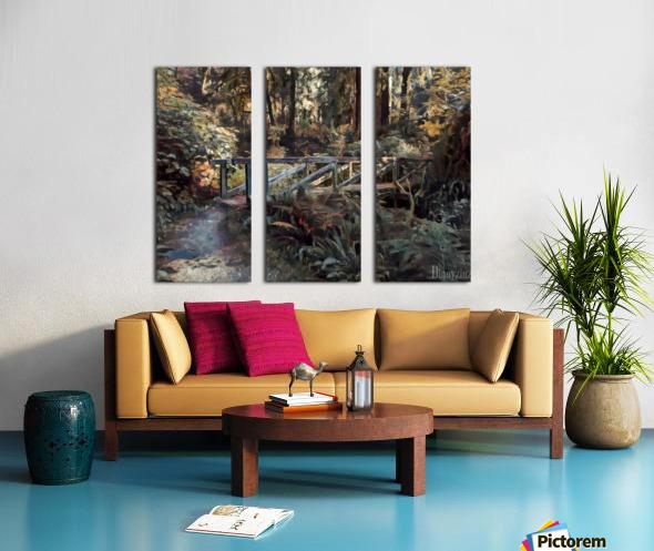 Redwood forrest Split Canvas print