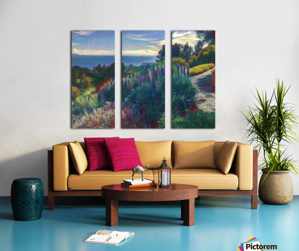 Views from the crest 2 Split Canvas print