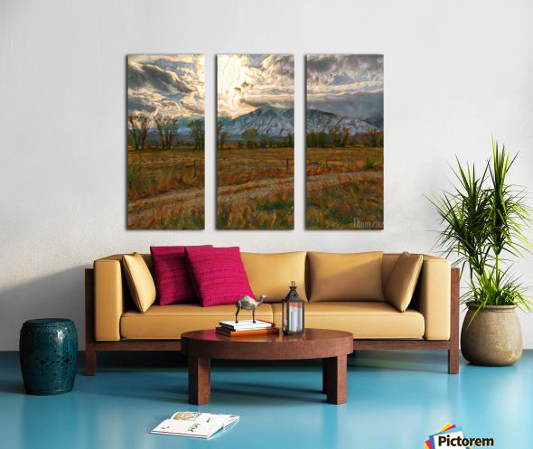 Winter is coming Split Canvas print