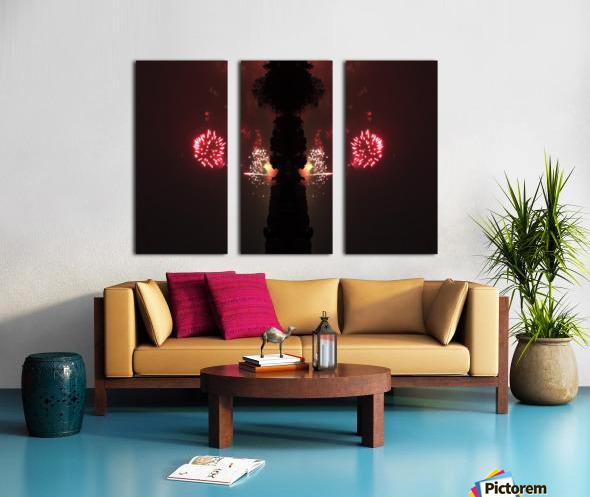 Lights54 Split Canvas print