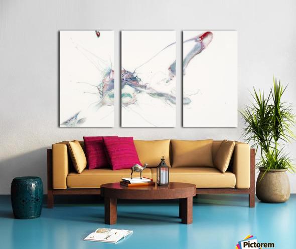 Uplift Split Canvas print