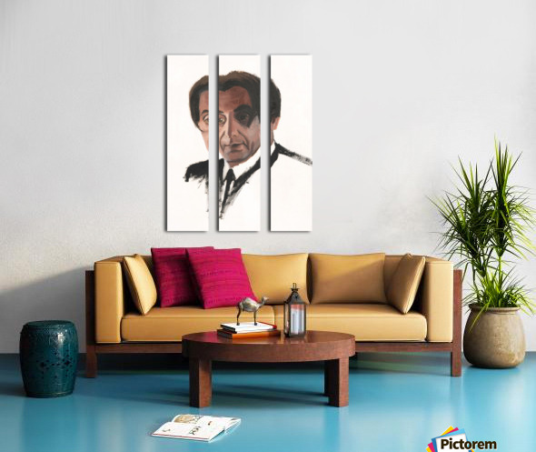 Al Pacino Split Canvas print