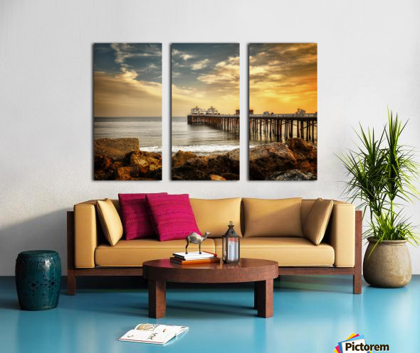Malibu Summer  Split Canvas print