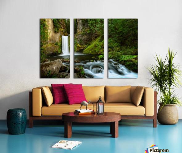 Native Flow Split Canvas print