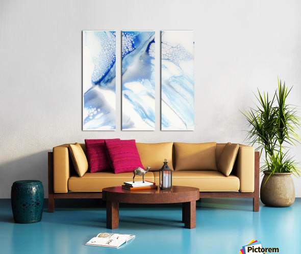 Slip Split Canvas print