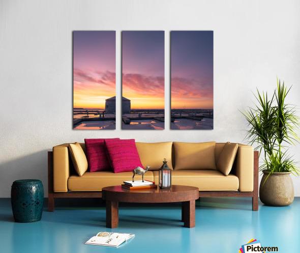 Martello Split Canvas print