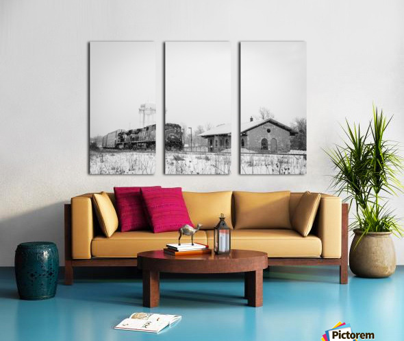 Napanee Station Split Canvas print