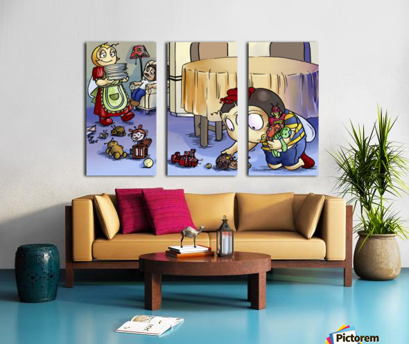 Toy Parade - Bugville Critters Split Canvas print