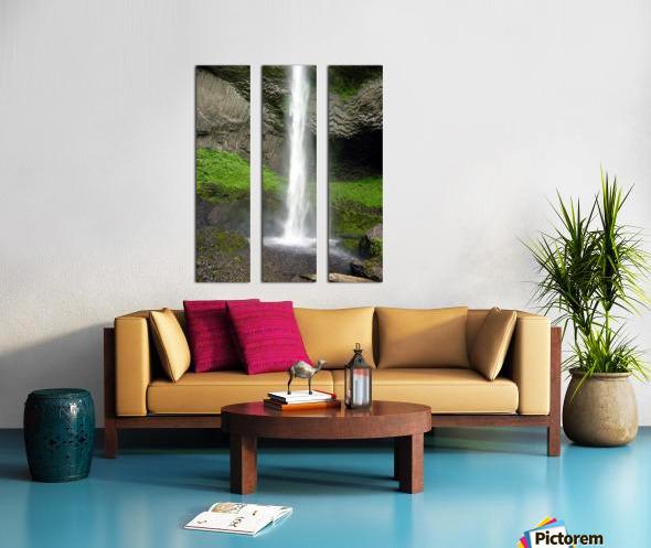 Spray Split Canvas print