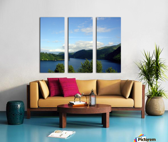 Pacific Northwest Splendor Split Canvas print