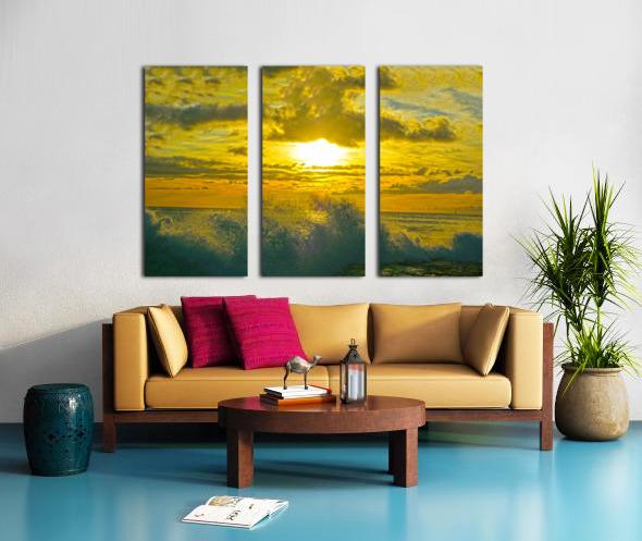 Surge Split Canvas print
