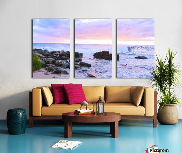 Rocky Coast Split Canvas print