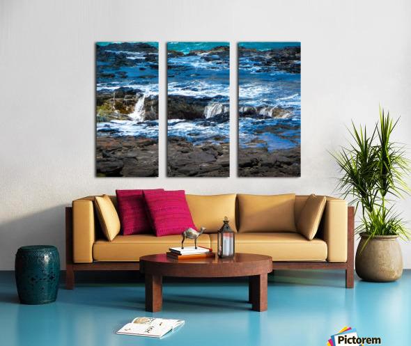 At the Bay Split Canvas print