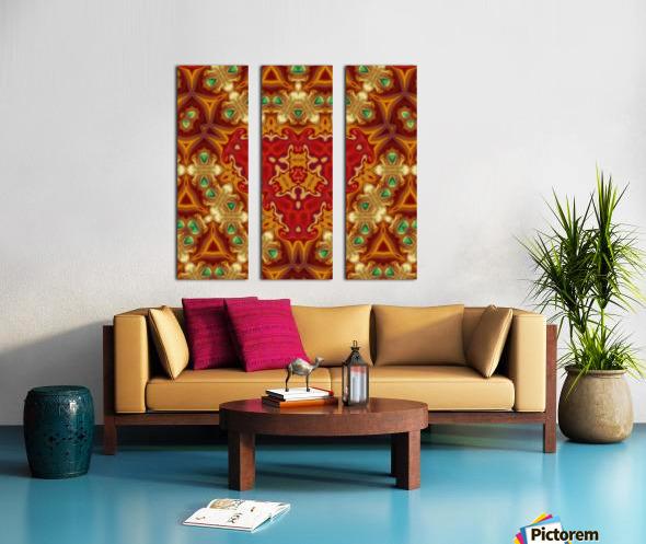 KL14  Split Canvas print