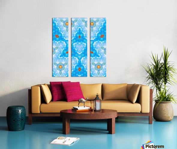 KL27  Split Canvas print
