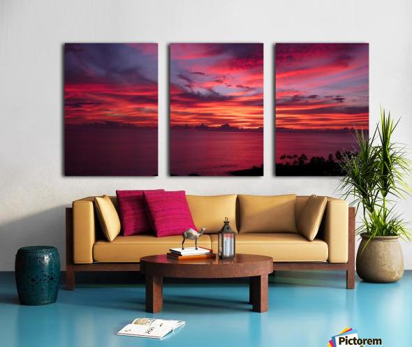 The Fires of Heaven Split Canvas print