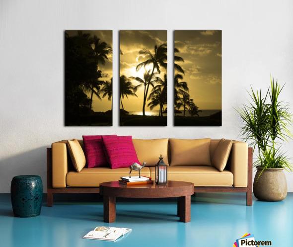 Paradise Dreams Split Canvas print